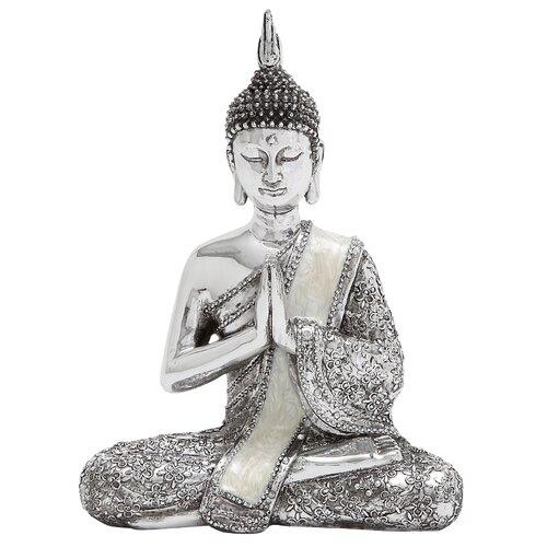 Polystone Sitting Buddha Figurine
