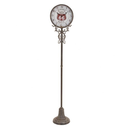 Woodland Imports Metal Grand Floor Clock