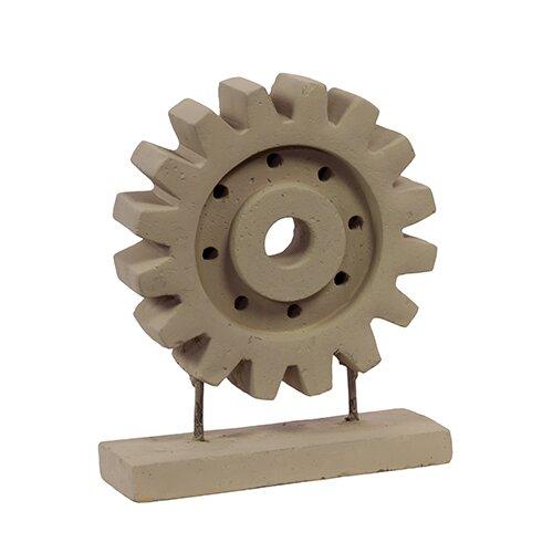 Circular Urban Cement Sandstone Trendy Decor Figurine