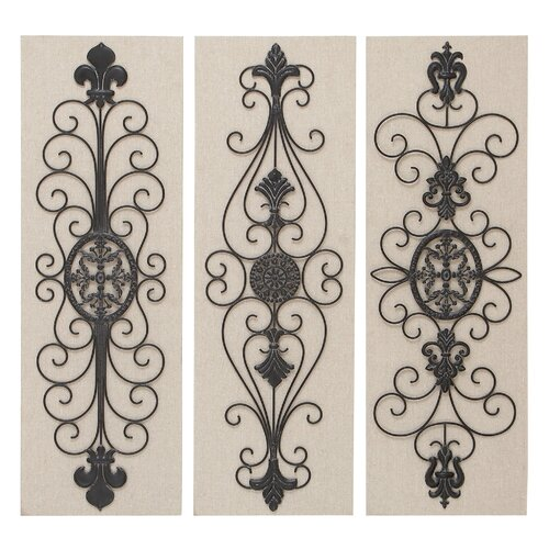 Woodland Imports 3 Piece Wall Décor Set