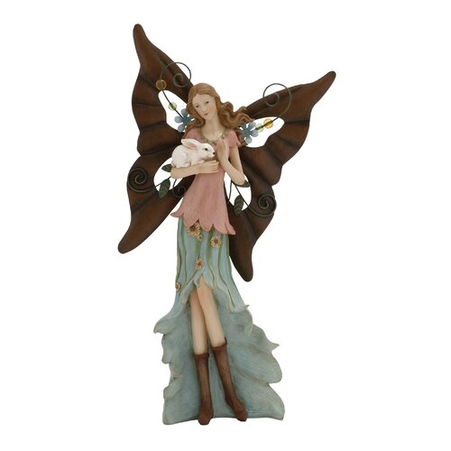 Adorable and Attractive Polystone Metal Fairy Figurine