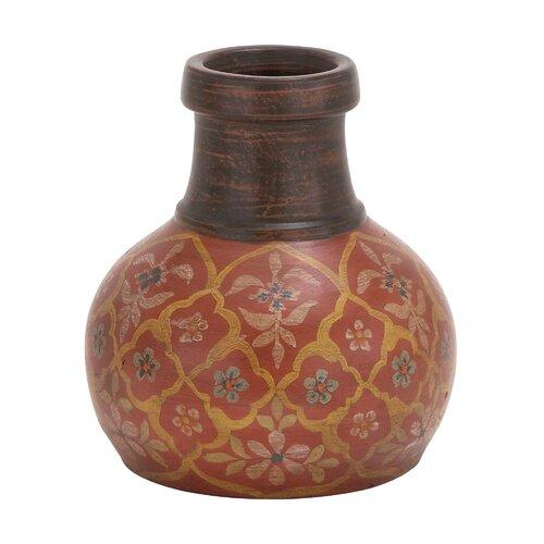 The Bright Terracotta Vase