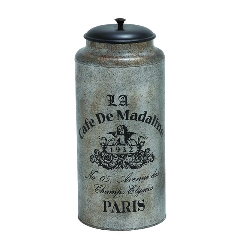 Alluring Indian Galvanized Canister