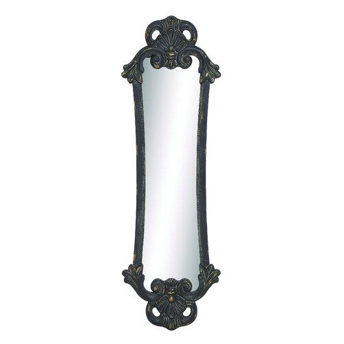 Botou Elegant and Stylish Carved Wood Wall Mirror