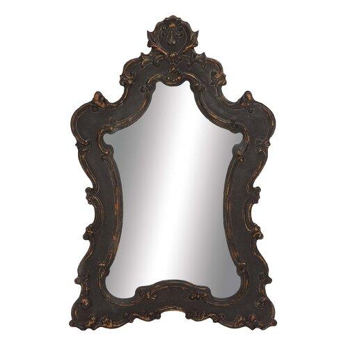 Brooding Wood Wall Mirror