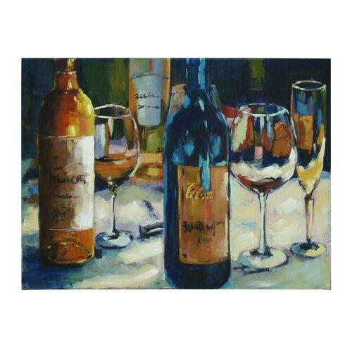 Jiu Wine Painting Print on Canvas