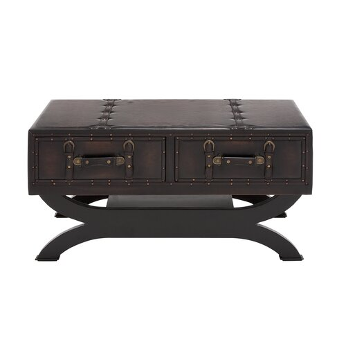 Classy Wood / Leather Coffee Table