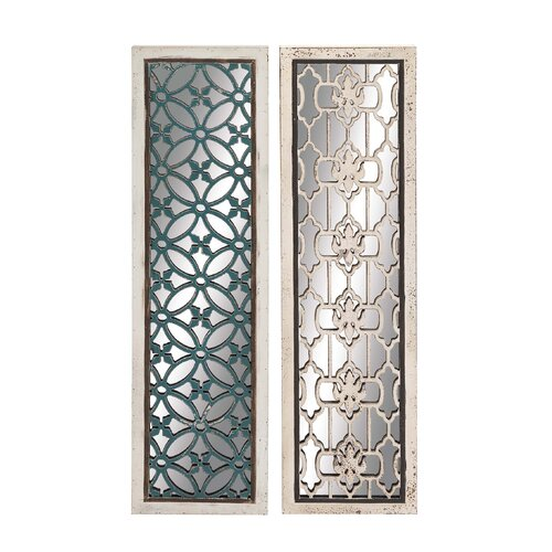 Wood Mirror Panel (Set of 2)