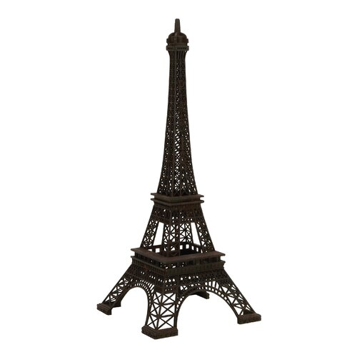 The Charming Metal Decorative Eiffel Tower Sculpture