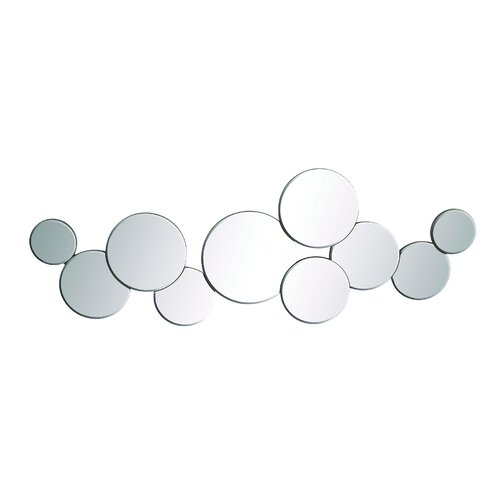 Woodland Imports Lovely Chinese Circle Mirror Wall Décor