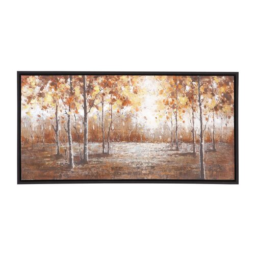 The Brilliant Wood Frame Painting Print on Canvas