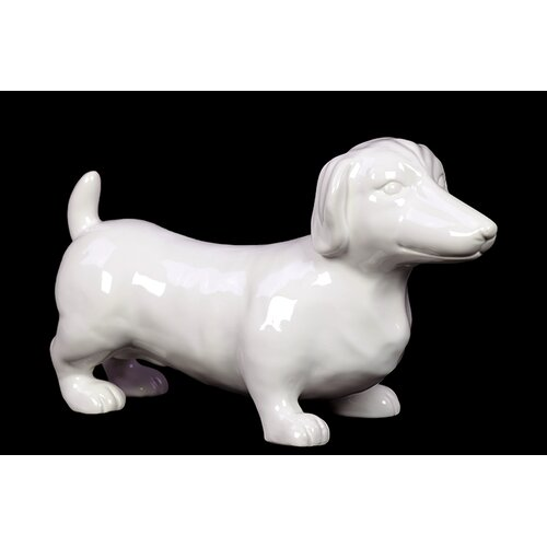 Lovely and Adorable Ceramic Datsun Dog Sculpture