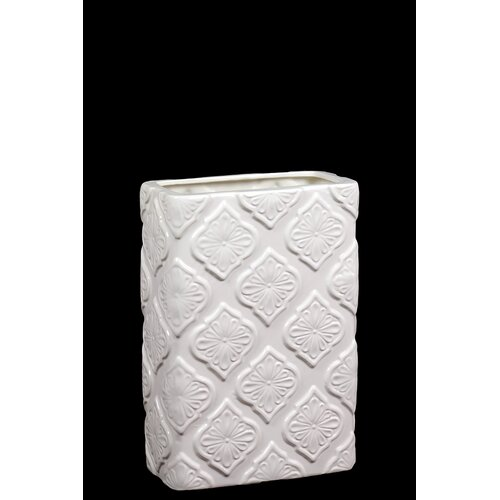 Elegant Square Shaped Ceramic Vase