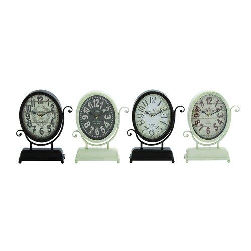 Yangtze's 4 Piece Smart Metal Desk Clock Set