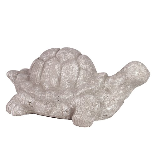 Beautifully Sculpted Terracotta Tortoise Figurine