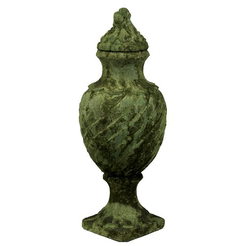 Antique and Gothic Style Stoneware Urn
