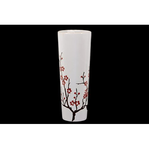 Cylindrical Shaped Ceramic Vase