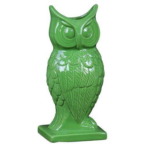 Spectacular and Magnificent Ceramic Owl Vase