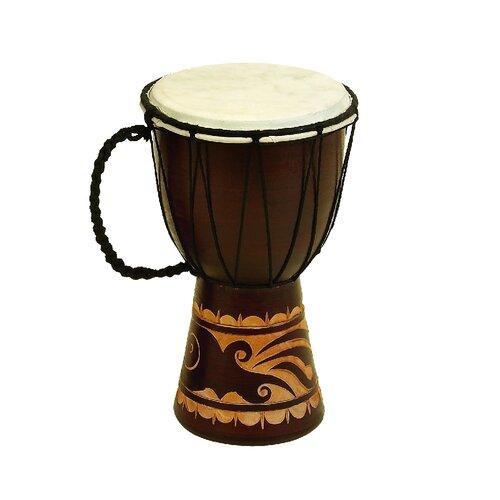 Decorative Leather Djembe Drum