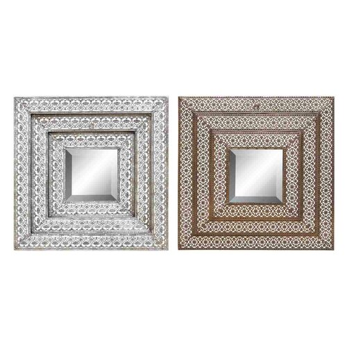 Woodland Imports 2 Piece Wall Mirror Set