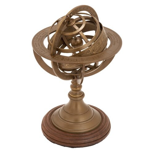 Woodland Imports Armillary Nautical Maritime Ornament Sculpture