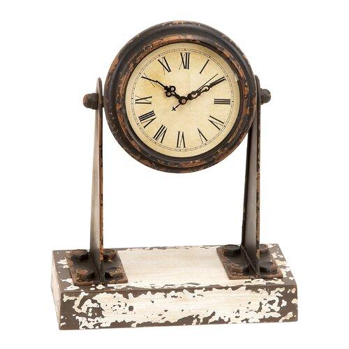 Metal and Wood Clock