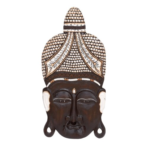 Woodland Imports Buddha Head Wall Décor