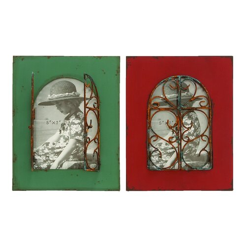Woodland Imports 2 Piece Balcony Window Picture Frame