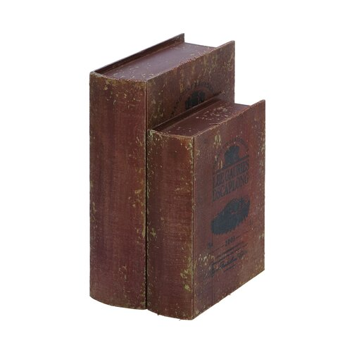 Wine Vineyard Book Boxes (Set of 2)