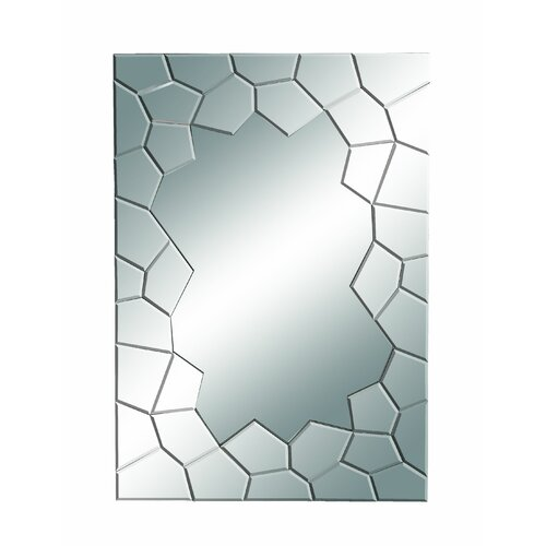 Woodland Imports Cracked Edges Mirror