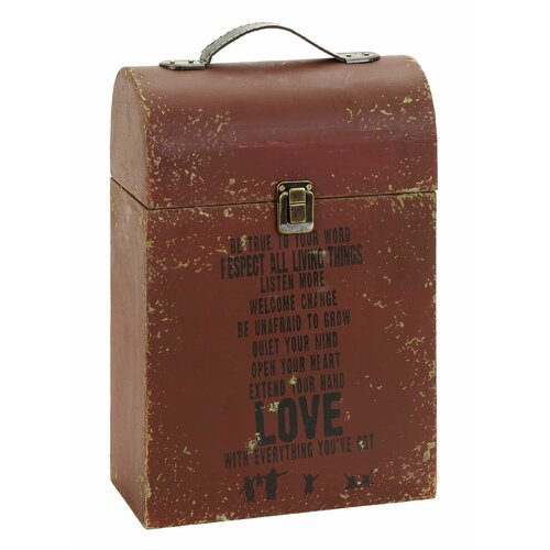 Woodland Imports Inspirational Portable Wine Case