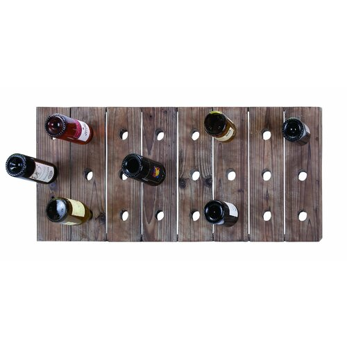 Woodland Imports 24 Bottle Hanging Wine Rack