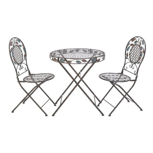 Woodland Imports 3 Piece Dining Table Set