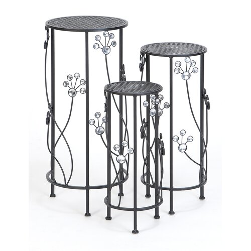 Woodland Imports Plant Stand (Set of 3)