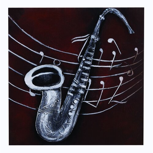 Instrument Painting Print on Canvas