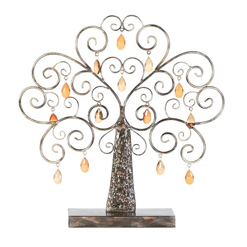 Woodland Imports Metal Tree Figurine