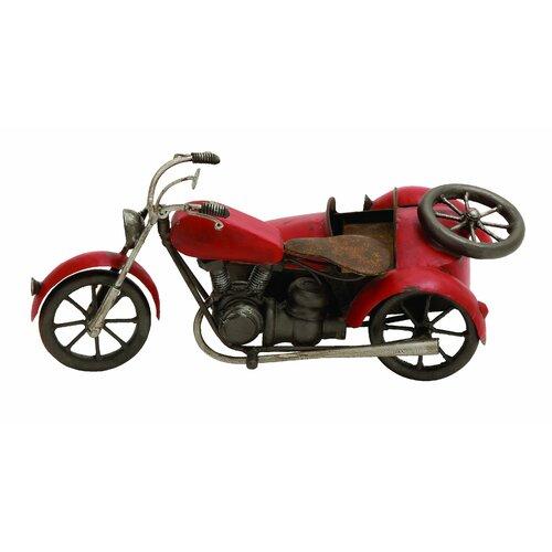 Vintage Motorcycle Sculpture