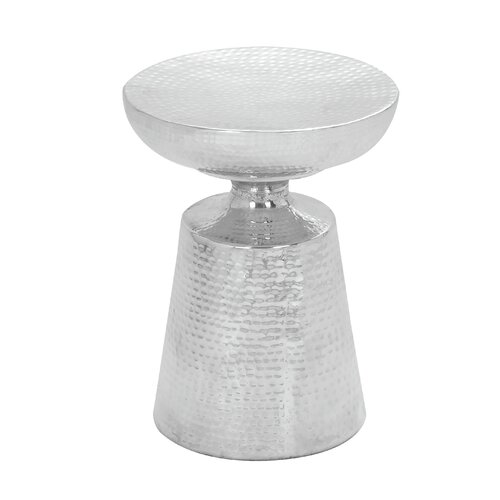 Aluminium Hammered Stool