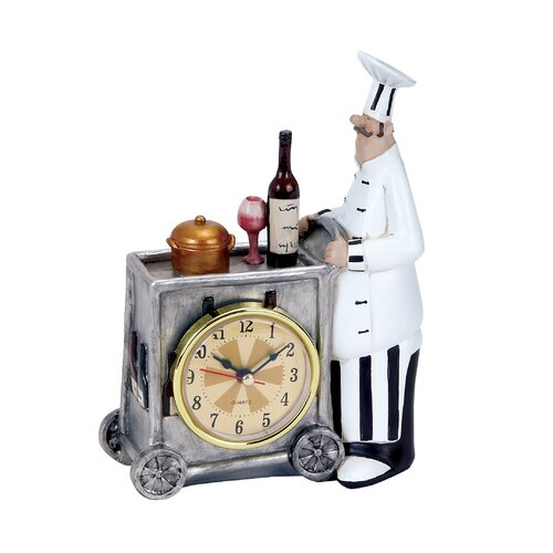 Woodland Imports Chef Table Clock