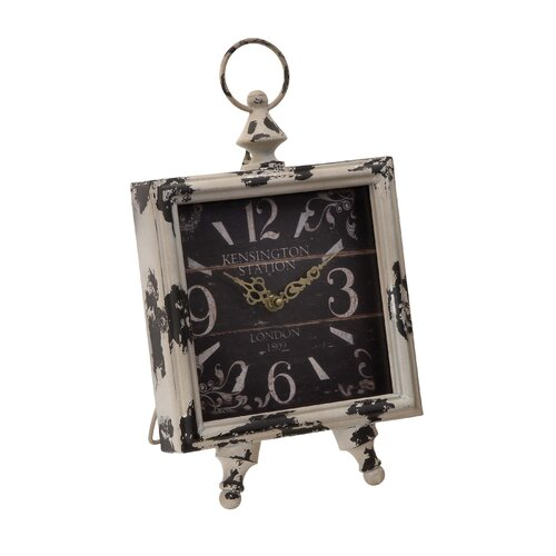 Intricate Clock with Square Shaped Dial