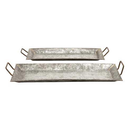 Woodland Imports Decorative Trays