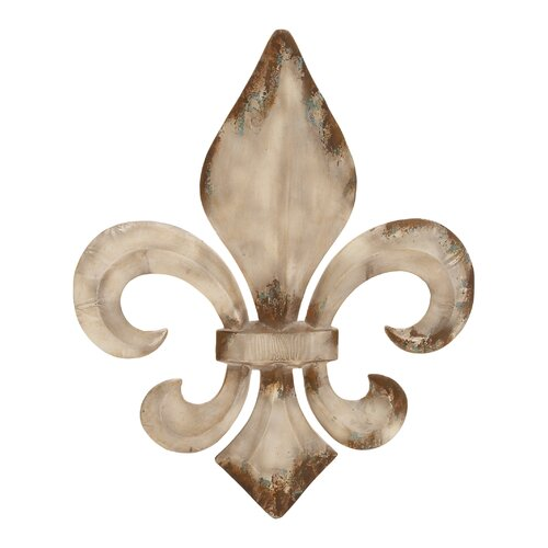Woodland Imports Decorative Fleur De Lis Charm Wall Décor