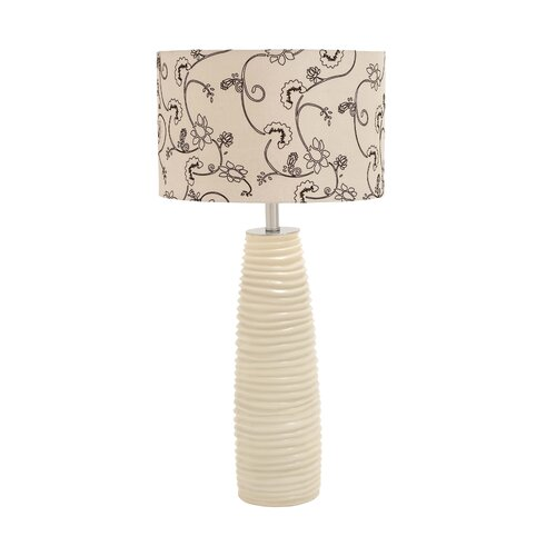 """Woodland Imports 32"""" H Sleek and Contemporary Table Lamp"""