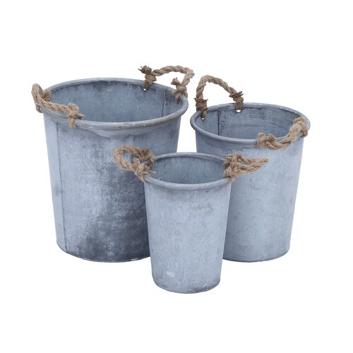 Round Pot Planter (Set of 3)