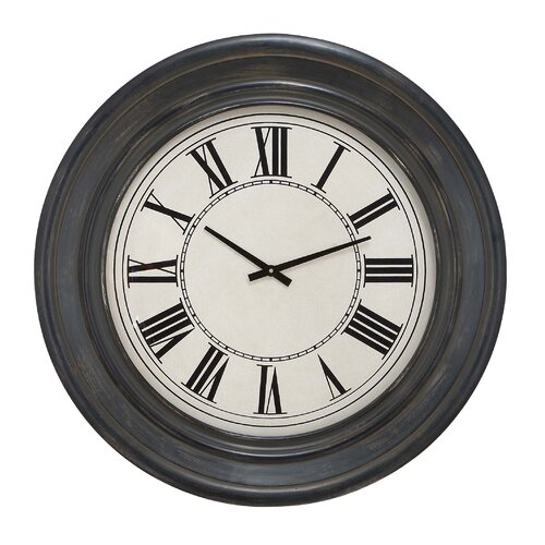 "Woodland Imports Oversized 32"" Wall Clock"