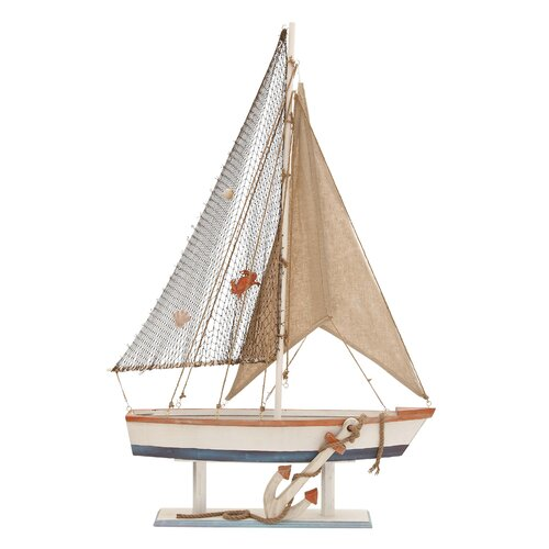 Woodland Imports Beautiful Sailing Model Boat