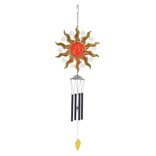 Metal Glass Wind Chime