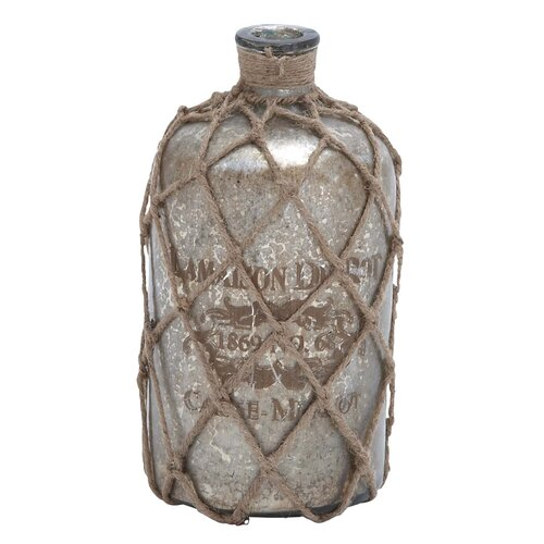 Jute Decorative Bottle