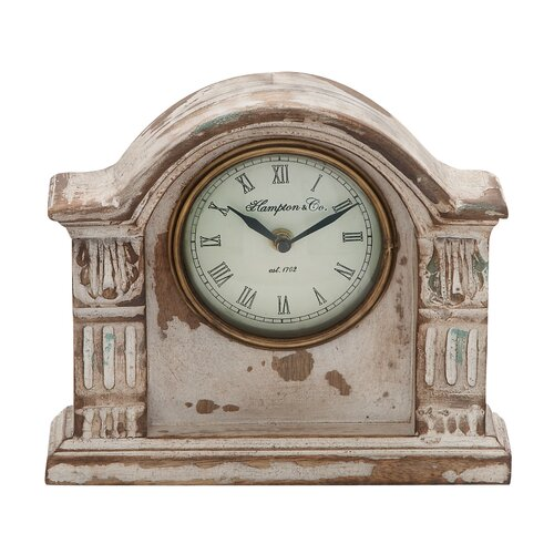 Traditional Wooden Mantle Clock