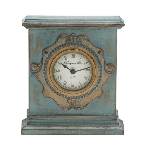 Retro Style Wooden Table Clock